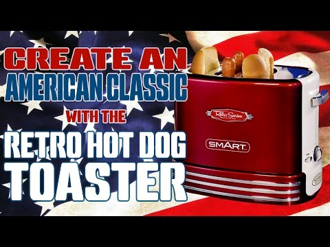 Retro Pop Up Hot Dog Toaster