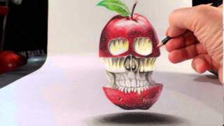 11 cool 3d drawings