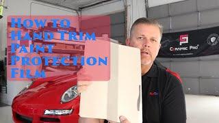 Paint Protection Film Training | Cut Training Tool