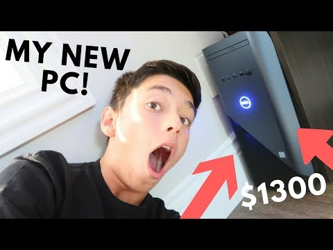 $1,300 Dream Gaming PC Unboxing + Review | Dell Inspiron