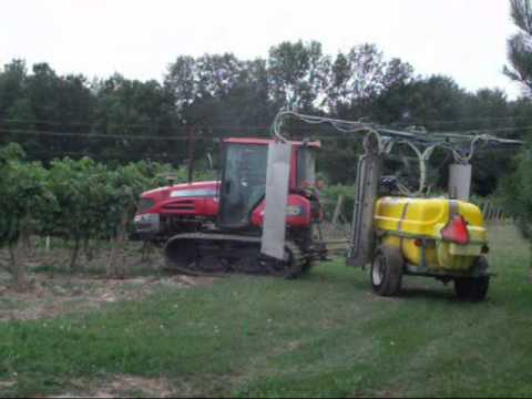 Sprayer, Vineyard Recycling Sprayer, LIPCO