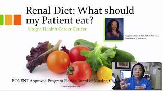 Renal Diet - what can dialysis patients eat [Free Dialysis Video Training]
