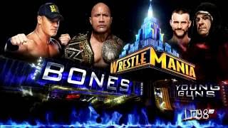 "WWE:Wrestlemania 29 Theme Song: ""Bones"" by Young Guns"