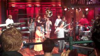 JL, Angelique Kidjo and The Roots Rehearsing for The Jimmy Fallon Show