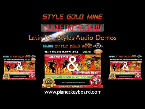 Style Gold Mine - Latin & World Music Styles