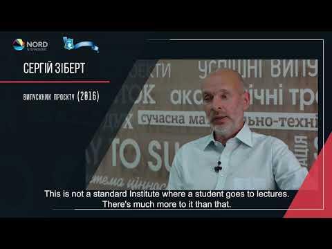 Відео-відгук випускника проекту «Норвегія-Україна» Сергія Зіберта