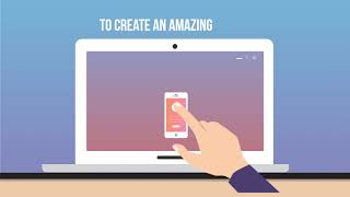 I will create a motion graphic explainer video