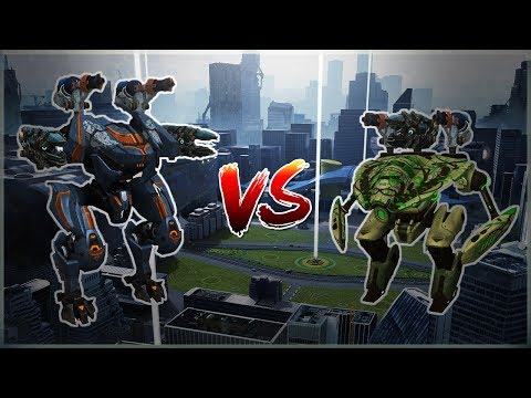 [WR] 🔥 Tyr VS Mender - Comparison With Gameplay | War Robots