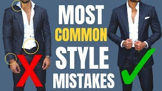 The MOST Common Mens Style Mistakes (and How to Fix Them)