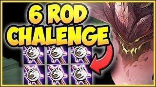 NUKE THE ENEMY TEAM WITH 6 ROD MALPHITE CHALLENGE! FULL AP MALPHITE CHALLENGE! - League of Legends
