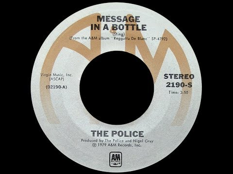 The Police ~ Message In A Bottle 1979 Extended Meow Mix