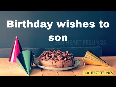 Download Happy Birthday Messages For Son Birthday Wishes For Son