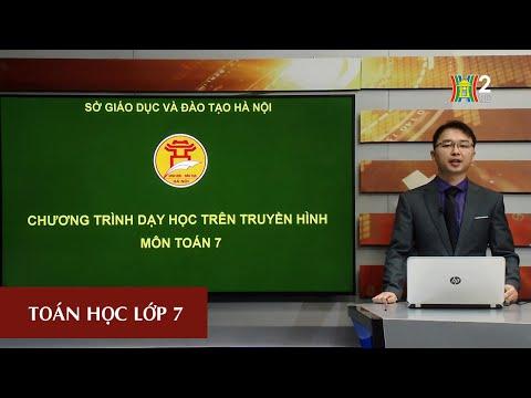 MÔN TOÁN - LỚP 7 | HÌNH HỌC: CÁC TRƯỜNG HỢP BẰNG NHAU CỦA TAM GIÁC VUÔNG | Theo lịch của Bộ GD&ĐT phát sóng từ 18h30 ngày 23/4/2020, trên VTV7