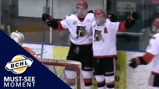 Must See Moment: Stephen Castagna blows by the defence and buries it