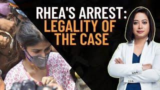 Rhea's Arrest: Legality of the Case   Faye D'Souza