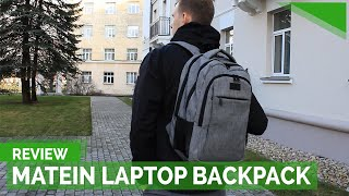 Matein Travel Laptop Backpack Review | The Best Affordable Laptop Backpack On Amazon