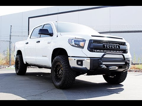 Spyder Auto Installation: 2014-2018 Toyota Tundra LED Lightbar Headlights Mp3