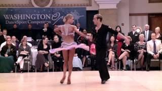 2014 Washington Open Riccardo &  Yulia   Samba