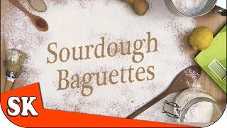 HOW TO MAKE SOURDOUGH FRENCH BAGUETTES   Introduction To Bread Making