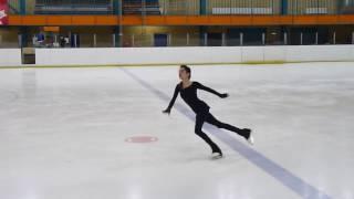 Евгения Медведева, КП на тренировке  (15.01.2017)