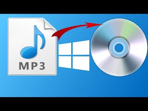 How to Burn Mp3 Music Songs  to CD in Windows 10 car stereo using  (without extra software)