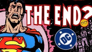 DC Comics Ending? Future Uncertain at WarnerMedia