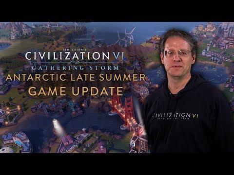 Civilization VI: Gathering Storm - Antarctic Late Summer Game Update (April 2019)