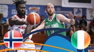 Norway V Ireland - Full Game - FIBA European Championship For Small Countries 2018