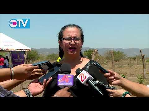 Concluye tercera etapa de entrega de lotes del programa Bismarck Martínez en Ciudad Sandino