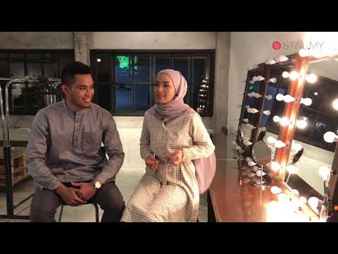 Stail.My ❤️ Uniqlo Baju Melayu: Farah Shaharudin & Farid Ali