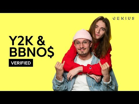 """Y2K & bbno$ """"Lalala"""" Official Lyrics & Meaning 