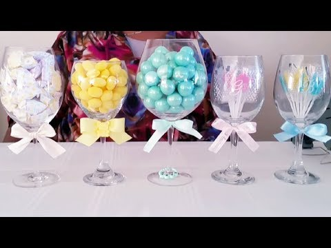 HOW TO TURN DOLLAR TREE ITEMS INTO BABY SHOWER IDEAS! | INEXPENSIVE DIY 2018