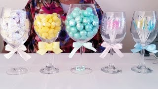 DIY| DOLLAR TREE BABY SHOWER CANDY AND, SWEET TABLE,  AMAZING IDEAS