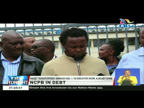 NCPB contracted transporters  down tools over unpaid dues