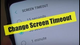 android screen timeout - TH-Clip