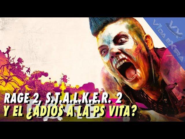 S.T.A.L.K.E.R. 2 confirmado , RAGE 2 y ¿adiós a la PS Vita?