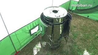 Печь Паробомба-2. Обзор и тест