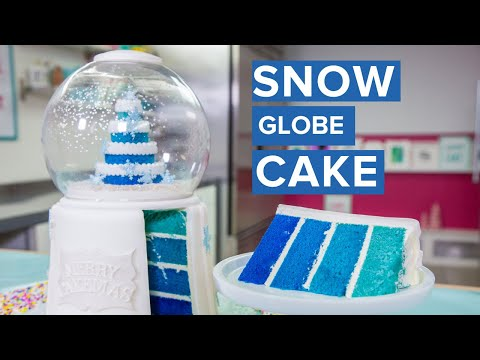 Download SNOW GLOBE CAKE! | Holiday Baking | How To Cake It HD Mp4 3GP Video and MP3