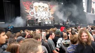 Graspop 2011 - Channel zero - Run with the torch