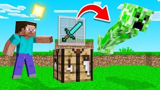 CRAFT ITEMS = Spawn MOBS In Minecraft! (insane)