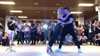 La Estrategia - Johnny Sky | Bachata workshop | Alfonso y Mónica