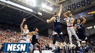 College Hoops Round-Up: Zags Fall To BYU, UCLA Edges Arizona