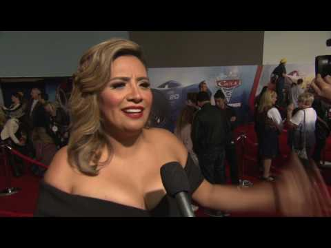 Cars 3 World Premiere - interview Cristela Alonzo (official video)
