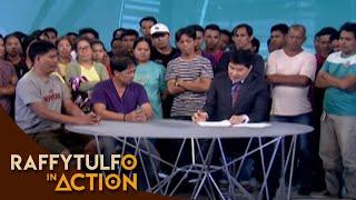 [Raffy Tulfo in Action]  FACTORY WORKERS, INIREREKLAMO ANG PAGPAPALIT NG PANGALAN NG KUMPANYA