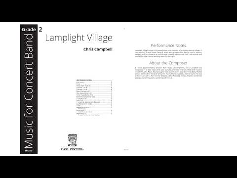 Lamplight Village (YPS216) by Chris Campbell