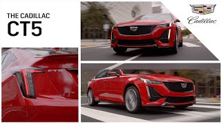 YouTube Video GH56mOM5OLc for Product Cadillac CT5 Sedan by Company Cadillac in Industry Cars