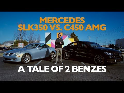 Mercedes SLK350 Vs. C450 AMG | Between The Wheels Ep: 14