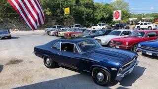 1968 Chevy Nova 427 , 4 Speed Maple Motors $21,900 #608