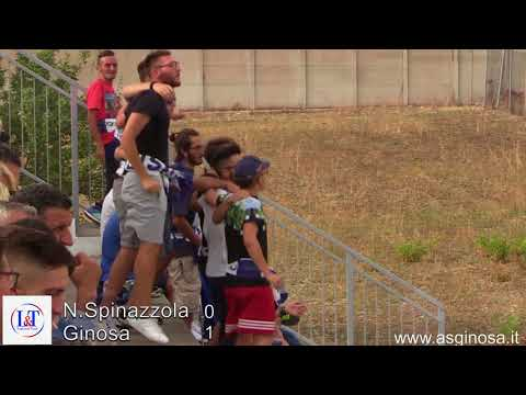 Preview video SPINAZZOLA-GINOSA 0-1 Anche in campionato un Ginosa con una partenza sprint