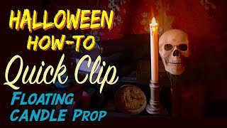 Quick Look At Our Animated DIY Floating Candles HALLOWEEN Prop